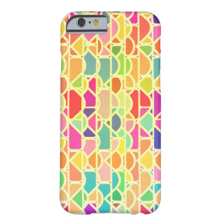 Colorful bright pattern barely there iPhone 6 case