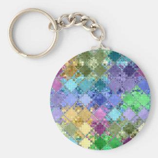 Colorful Bright Unique & Customizable Key Ring