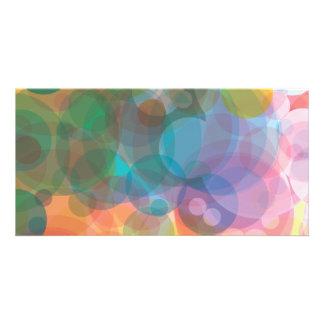 colorful-bubbles-3 photo cards