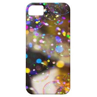Colorful bubbles art layer tough for Iphone5 Case For The iPhone 5