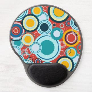 Colorful Bubbles Gel Mouse Pad