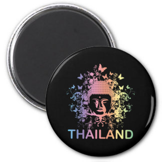 Colorful Buddha thailand Magnet