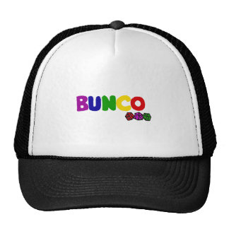 Colorful Bunco and Dice Art Cap