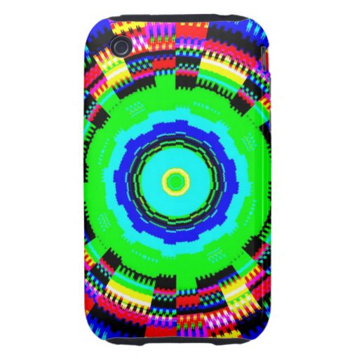 Colorful burst iPhone 3G/3GS Case-Mate Tough iPhone 3 Tough Covers