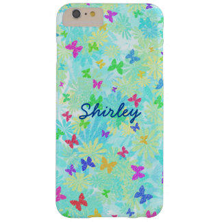 Colorful Butterflies and Daisies by Shirley Taylor Barely There iPhone 6 Plus Case