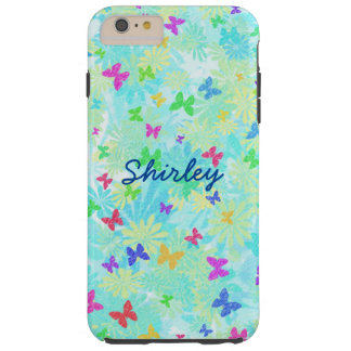 Colorful Butterflies and Daisies by Shirley Taylor Tough iPhone 6 Plus Case