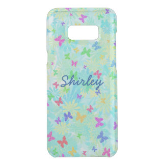 Colorful Butterflies and Daisies by Shirley Taylor Uncommon Samsung Galaxy S8 Plus Case