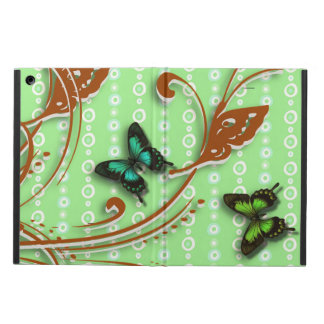 Colorful butterflies iPad air cover