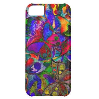 Colorful butterflies iPhone 5C case