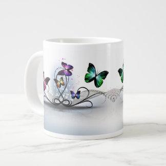 Colorful Butterflies Jumbo Mug