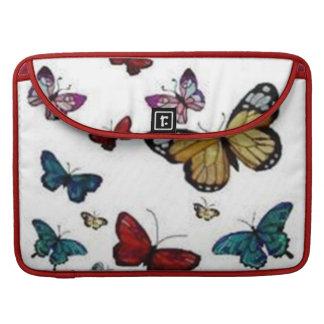 Colorful Butterflies Macbook Pro Flap Sleeve Sleeves For MacBooks