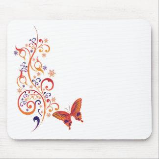 Colorful Butterflies Mousepads