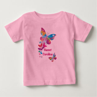 Colorful Butterflies Personalized Shirt