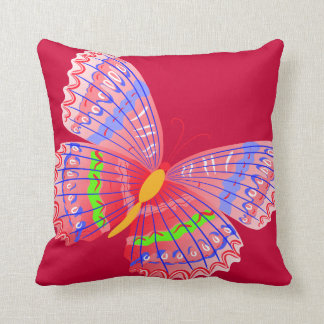 Colorful Butterfly American MoJo Pillows Cushion