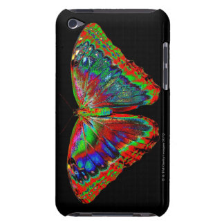 Colorful Butterfly design against black backdrop Case-Mate iPod Touch Case