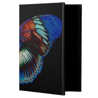 Colorful Butterfly design against black backdrop iPad Air Case