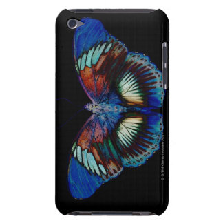 Colorful Butterfly design against black backdrop iPod Touch Case