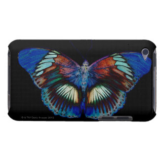 Colorful Butterfly design against black backdrop iPod Touch Cover