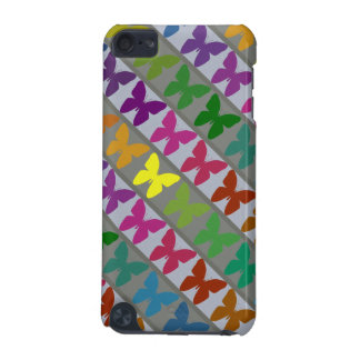 Colorful butterfly design ipod barely there case iPod touch (5th generation) cover