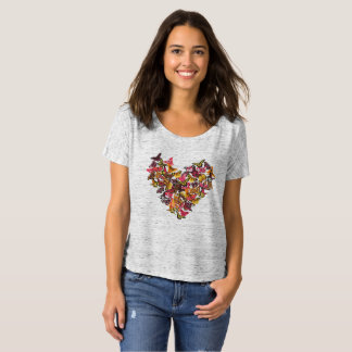 Colorful Butterfly Love T-Shirt