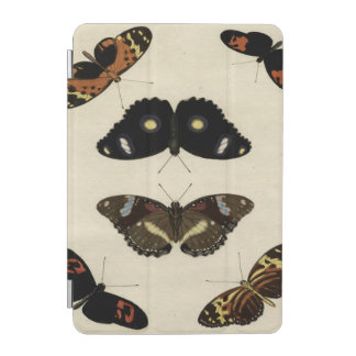 Colorful Butterfly Medley on Cream Background iPad Mini Cover