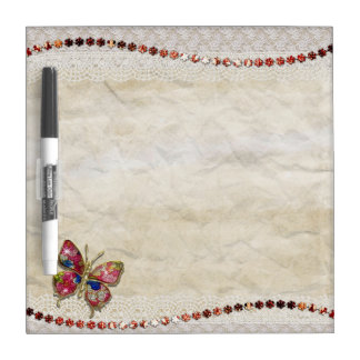 Colorful butterfly nice decor dry erase board