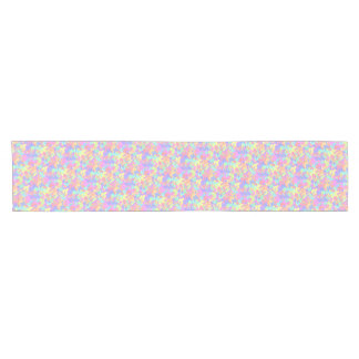 Colorful Butterfly pattern table runner