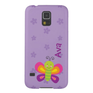 Colorful Butterfly Personalized Samsung GalaxyCase Cases For Galaxy S5