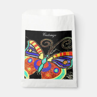 colorful butterfly Thunder_Cove Favour Bags