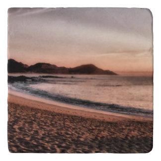 Colorful Cabo sunset Trivet
