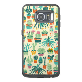 Colorful Cactus Flower Pattern