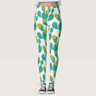 Colorful Cactus Leggings