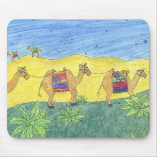 Colorful Camels Mousepad
