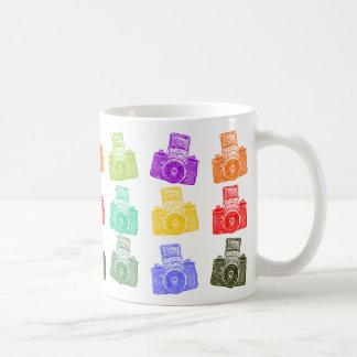 Colorful Cameras Coffee Mug