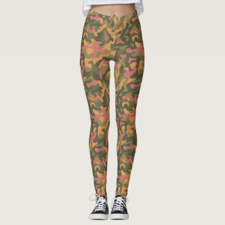 Colorful Camo Leggings