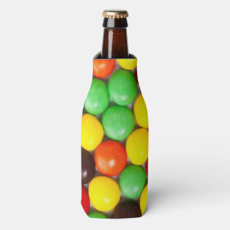 Colorful candies bottle cooler