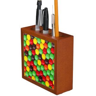 Colorful candies desk organiser