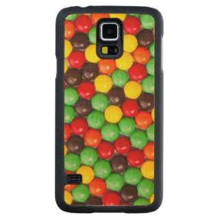 Colorful candies maple galaxy s5 slim case