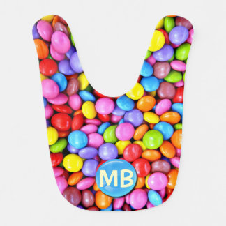 Colorful Candies Personalize Photo Bib