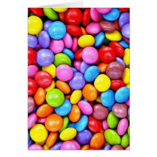 Colorful Candies photograph Card