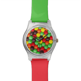 Colorful candies wrist watches