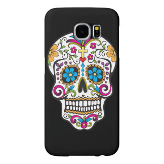 Colorful Candy and Sugar Skull Samsung Galaxy S6 Cases