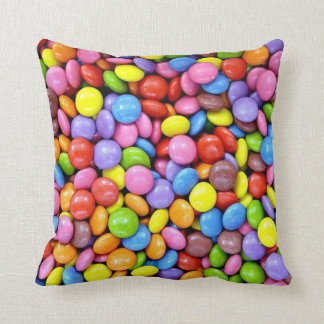 Colorful Candy Pieces Cushion