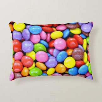 Colorful Candy Pieces Decorative Cushion