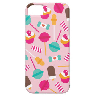 Colorful candy popsicle birthday cupcake theme iPhone 5 cases