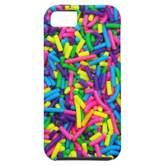 Colorful candy sprinkles print tough iPhone 5 case