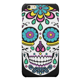 Colorful Candy Sugar Skull iPhone 6 Plus Case
