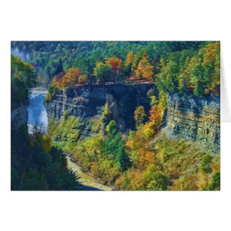 Colorful Canyon Card