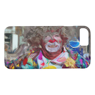 Colorful Carnival Parade Clown Abstract iPhone 7 Case