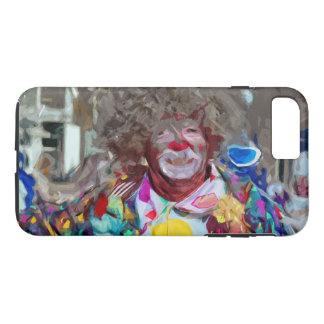 Colorful Carnival Parade Clown Abstract iPhone 7 Plus Case